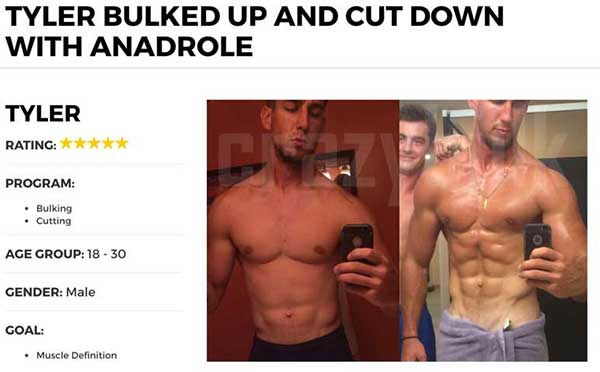 Bulk up and cut down with Anadrole