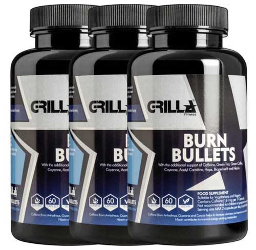 Burn Bullets from Grilla Fitness