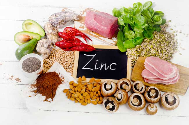foods that high in zinc
