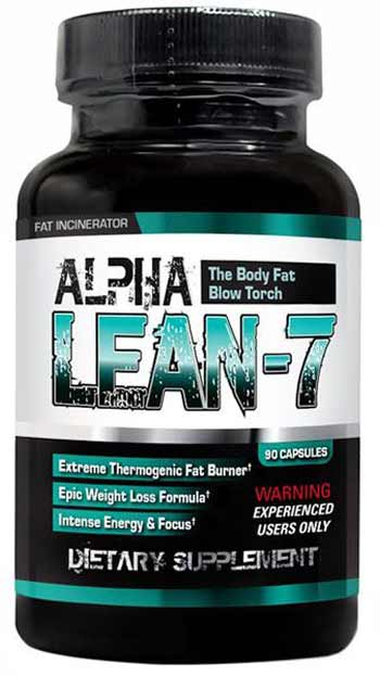Alpha Lean 7 bottle