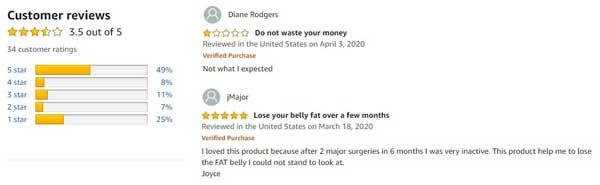 Ultra Omega Burn Customer Reviews