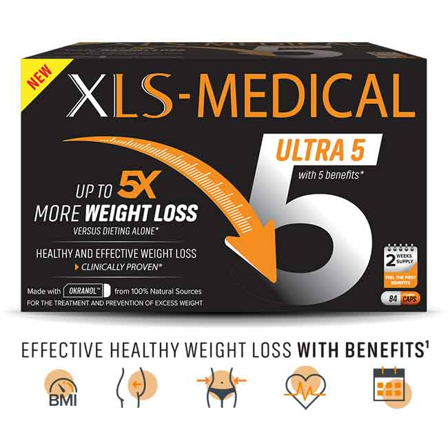 XLS Medical 5 weight loss capsules