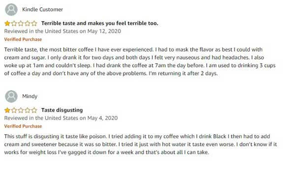Elevate Smart Coffee bad customer reviews