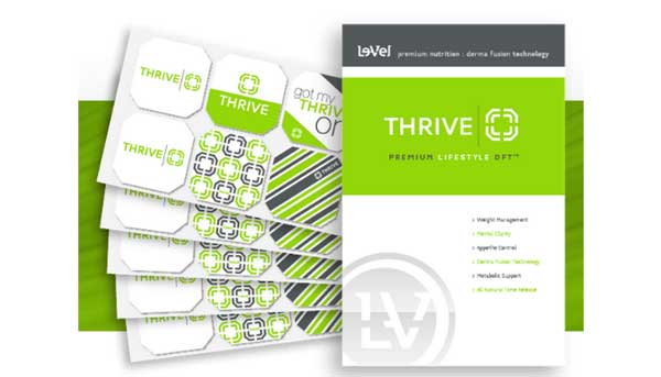 Thrive patch Premium Lifeststyle DFT