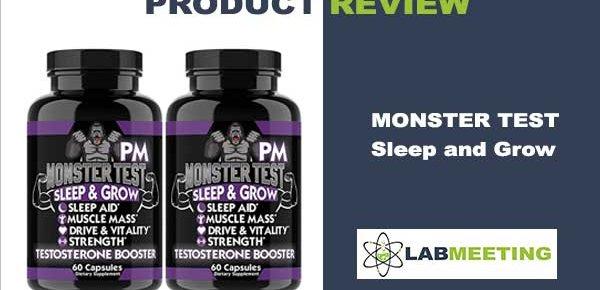 Monster Test Sleep and Grow